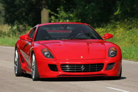 Ferrari 599 GTB Fiorano picture photo wallpaper hd 3