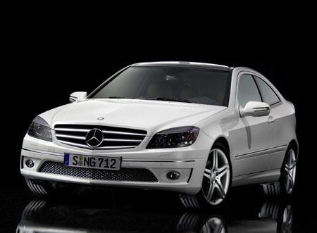 Mercedes-Benz C-Class Sports Coupé picture photo wallpaper hd 1