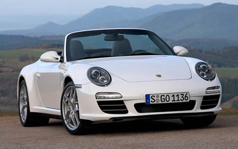 Porsche 911 Carrera 2S Cabriolet picture photo wallpaper hd 1