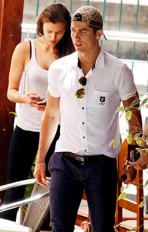 Cristiano Ronaldo fashion with girlfriend Irina ShaykCristiano Ronaldo Fashion Style 2014