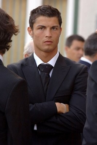 Cristiano Ronaldo formal haircut