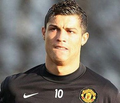 Cristiano Ronaldo hairstyle hairstyle in Man. Utd. 2007-2008
