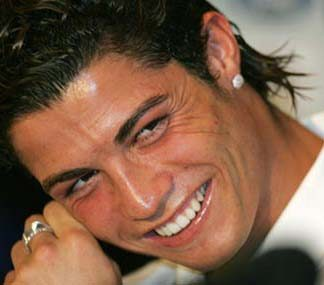 Cristiano Ronaldo hairstyle with long hair in the back