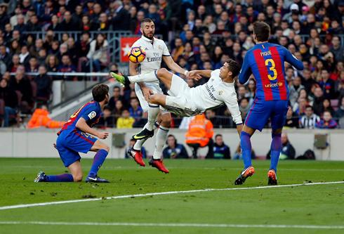 Barcelona vs Real Madrid (03-12-2016) - Cristiano Ronaldo ...