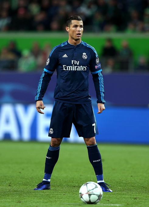 Wolfsburg vs Real Madrid (06-04-2016) - Cristiano Ronaldo ...