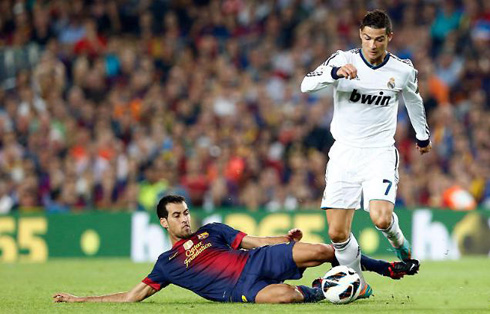 soccer player ronaldo in action