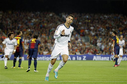 Barcelona vs Real Madrid (07-10-2012) - Cristiano Ronaldo ...