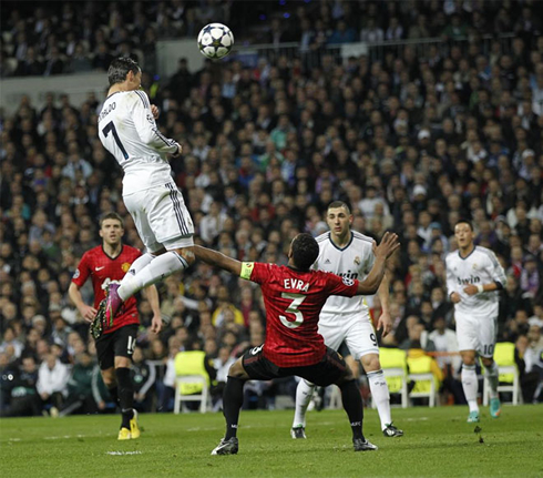 Cristiano Ronaldo's headed goal against Manchester United