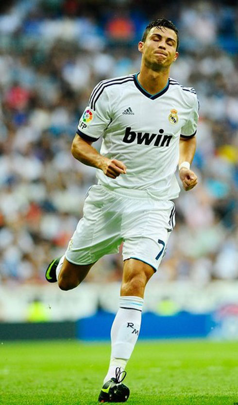 Cristiano Ronaldo Playing For Real Madrid In La Liga 2012 2013  In A 1