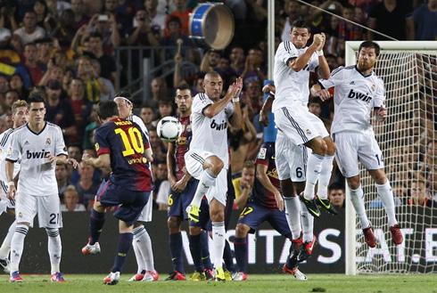 Barcelona vs Real Madrid (23-08-2012) - Cristiano Ronaldo ...