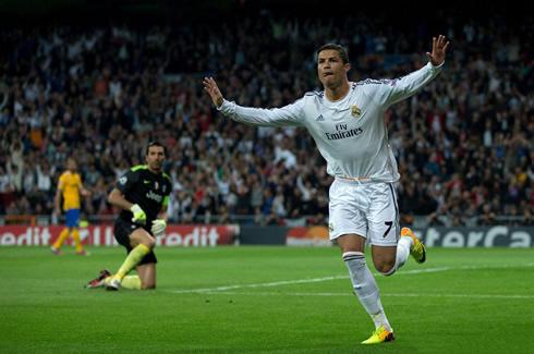 Cristiano Ronaldo Real Madrid 2014 Celebration