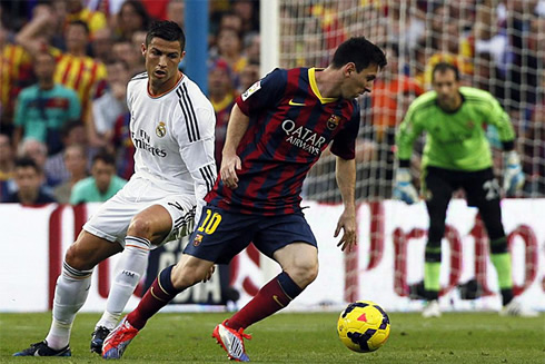 Messi vs Cristiano Ronaldo en redes sociales