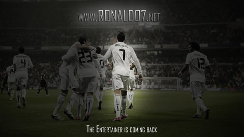 Cristiano Ronaldo wallpaper in Full HD (1920x1080): The entertainer is coming back