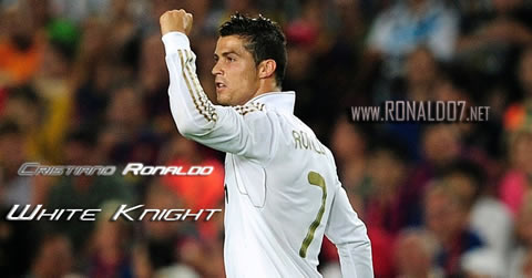 Cristiano Ronaldo wallpaper (1024x536) - CR7: White Knight