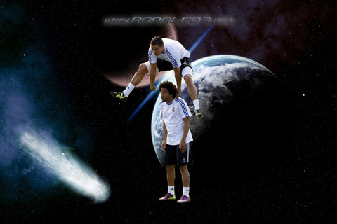 Cristiano Ronaldo wallpaper in (1200x800) - Cristiano Ronaldo: Defying gravity