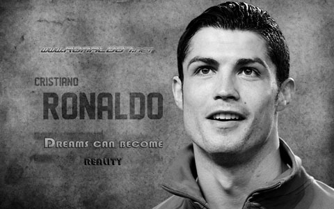 Cristiano Ronaldo wallpaper in (1280x800) - Cristiano Ronaldo: Dreams can become reality