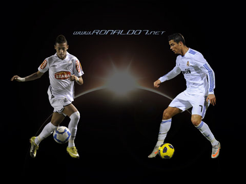 Cristiano Ronaldo and Neymar wallpaper in HD (1600x1200)