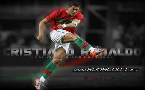 Cristiano Ronaldo - Portuguese Power wallpaper in HD (1280x800)