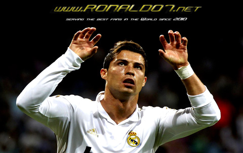 Cristiano Ronaldo - The best fans in the World wallpaper in HD (1900x1200)
