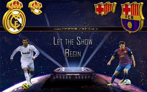 Real Madrid vs Barcelona - Good vs Evil wallpaper in HD (1024x768)