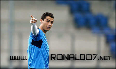 Cristiano Ronaldo Real Madrid - One player, one site: www.RONALDO7.net. Wallpaper in HD (594x355)