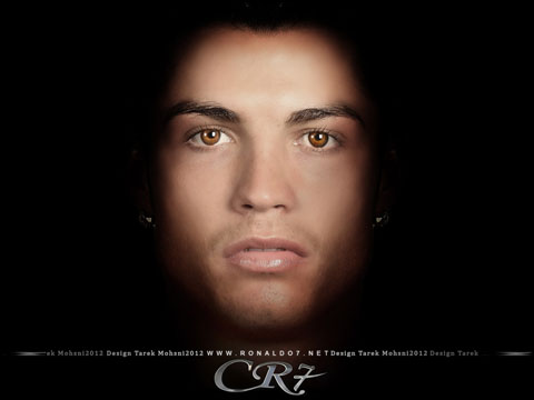 Cristiano Ronaldo - A face to remember. Wallpaper in HD (1024x768)