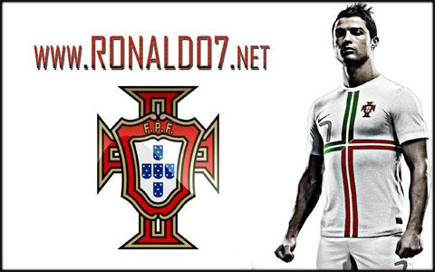 Cristiano Ronaldo - Portugal main player for the EURO 2012. Wallpaper in HD (2048x1280)
