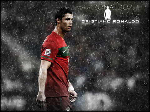 Cristiano Ronaldo - Portugal 2012/2013: Never be the man in the shadow. Wallpaper in HD (1280x960)