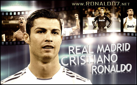 Cristiano Ronaldo - Write your own history - Hollywood star. Wallpaper in HD (1280x800)
