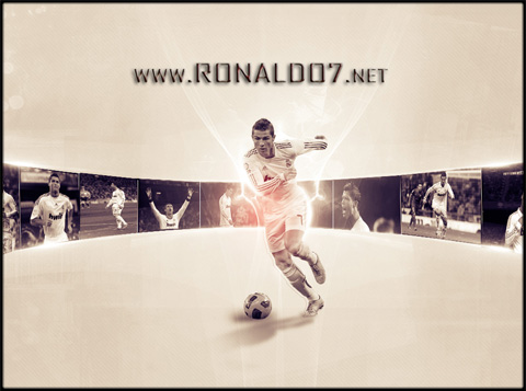 Cristiano Ronaldo - The best player in Real Madrid history. Wallpaper in HD (1024x850)