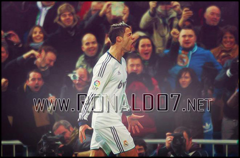 Cristiano Ronaldo - Addicted to score in Real Madrid 2012-2013. Wallpaper in HD (661x437)