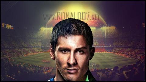 Ronaldessi - Cristiano Ronaldo and Lionel Messi fusion. Wallpaper in HD (1024x576)