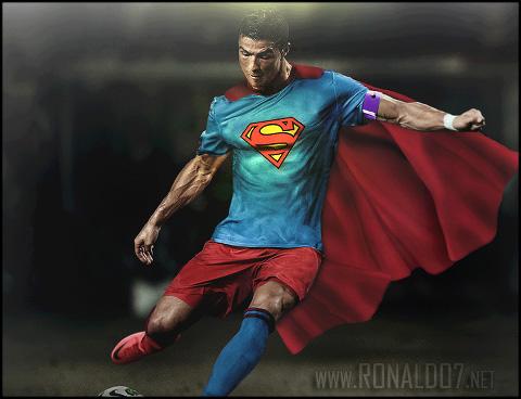 Cristiano Ronaldo - Superman wallpaper. Wallpaper in HD (480x368)