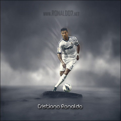 Cristiano Ronaldo - The one-man army in Real Madrid. Wallpaper in HD (894x894)