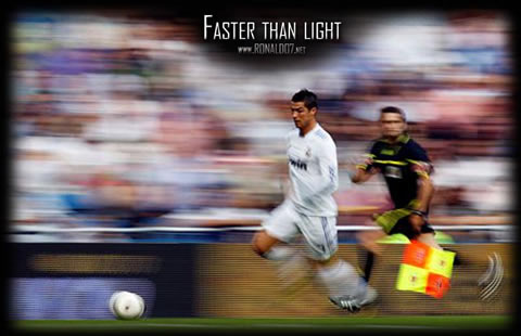 Cristiano Ronaldo wallpaper (800x516) - CR7: Faster than light