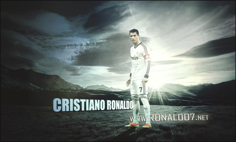 Cristiano Ronaldo - From a different planet. Wallpaper in HD (1700x1024)