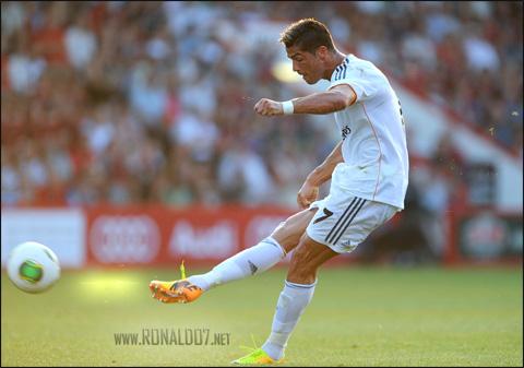 Cristiano Ronaldo - Bend it like Ronaldo. Wallpaper in HD (3000x2107)