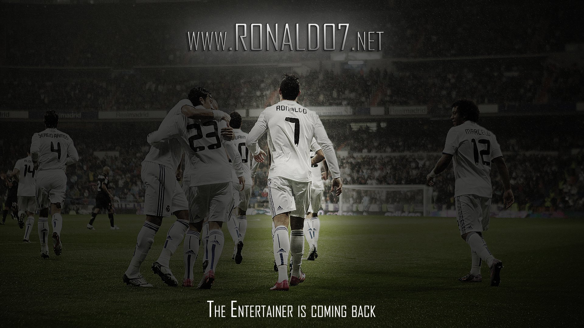 Google theme ronaldo