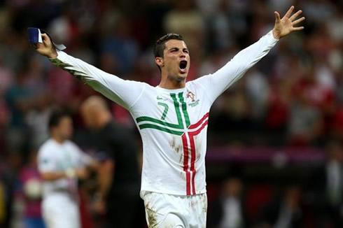 عکسهای رونالدو در یورو 2012