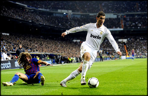 Puyol Wallpaper on Cristiano Ronaldo Al Barca Wallpapers   Real Madrid Wallpapers