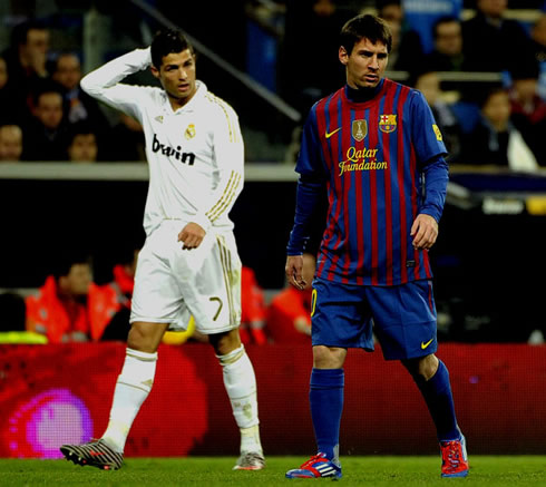 رونالدو و مسی ۲۰۱۲