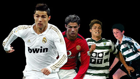 Cristiano Ronaldo Evolution In Sporting  Manchester United And Real