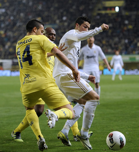 Villarreal vs Real Madrid 1-1 All Goals Highlights  21/03/2012