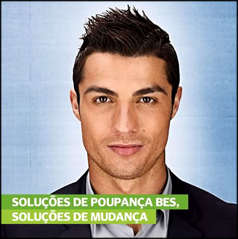 Ronaldo on 29 03 2012    C  Ronaldo Is The Face Of A New Bes Campaign