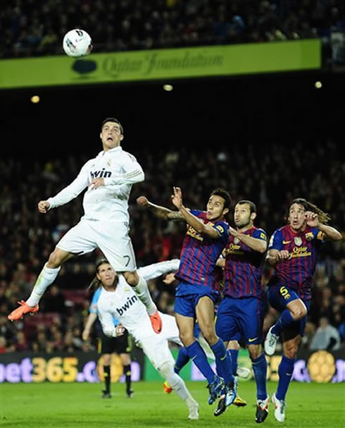 Barcelona Vs Real Madrid Or Liverpool Vs Manchester United: Barcelona 1-2 Real Madrid. Vintage Ronaldo Silences The
