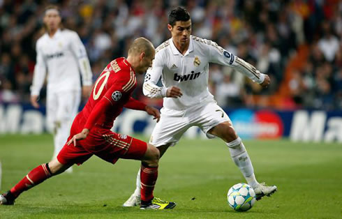 Real Madrid 2-1 Bayern Munich. So close and yet so far...