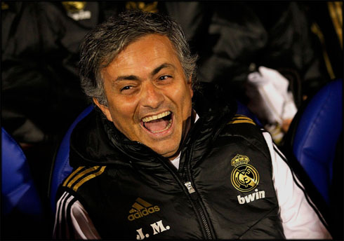 Image result for mourinho laughing