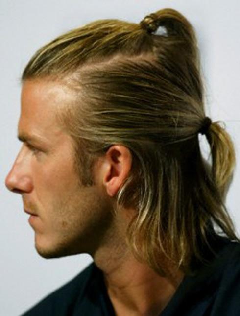 David beckham long blonde hair short hair pictures to pin on pinterest