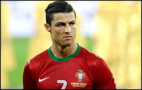 Ronaldo Wallpapers on Cristiano Ronaldo Bad Humor And Angry Face In Portugal  At The Euro