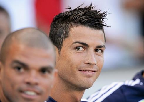 Ronaldo Real Madrid on Cristiano Ronaldo Smile In Real Madrid Pre Season In 2012 2013
